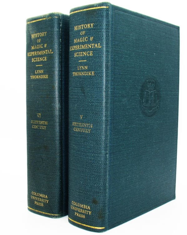Cover of History of Magic & Experimental Science vols v & vi