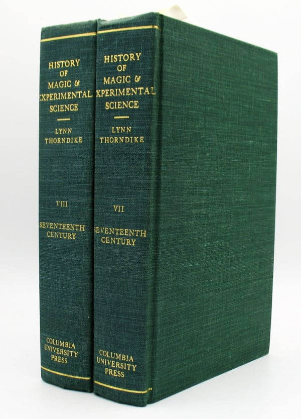 Cover of History of Magic & Experimental Science vols vii - viii