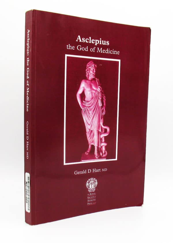cover of Asclepius, the God of Medicine