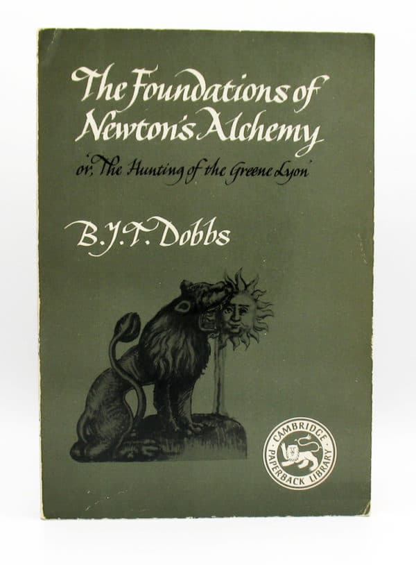 cover of The Foundations of Newton's Alchemy