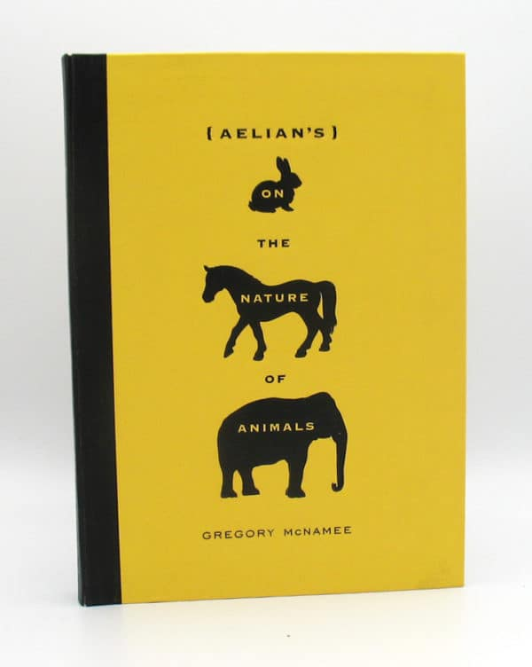 Cover of On the Nature of Animals