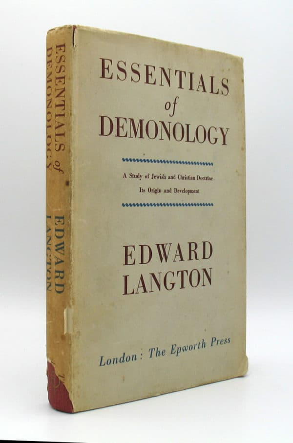 Cover of Essentials of Demonology