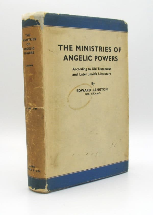 Cover of The Ministries of Angelic Powers