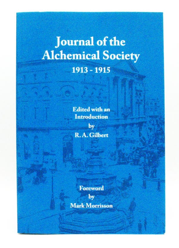 cover of P/B Journal; of Alchemical Society