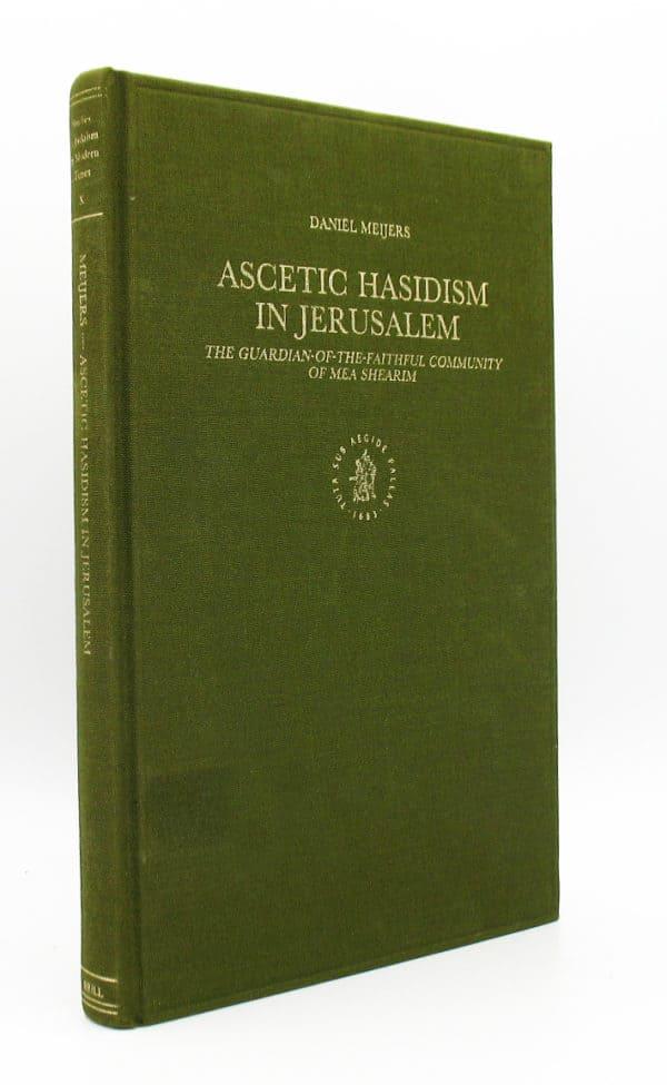 cover Ascetic Hasidism in Jerusalem