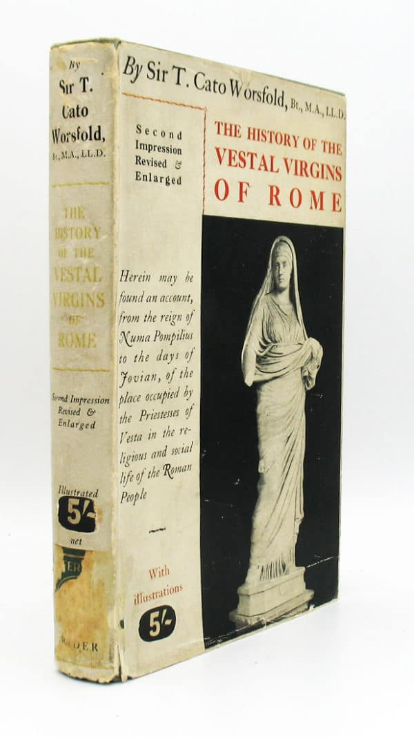 Cover of the History of the Vestal Virgins of Rome
