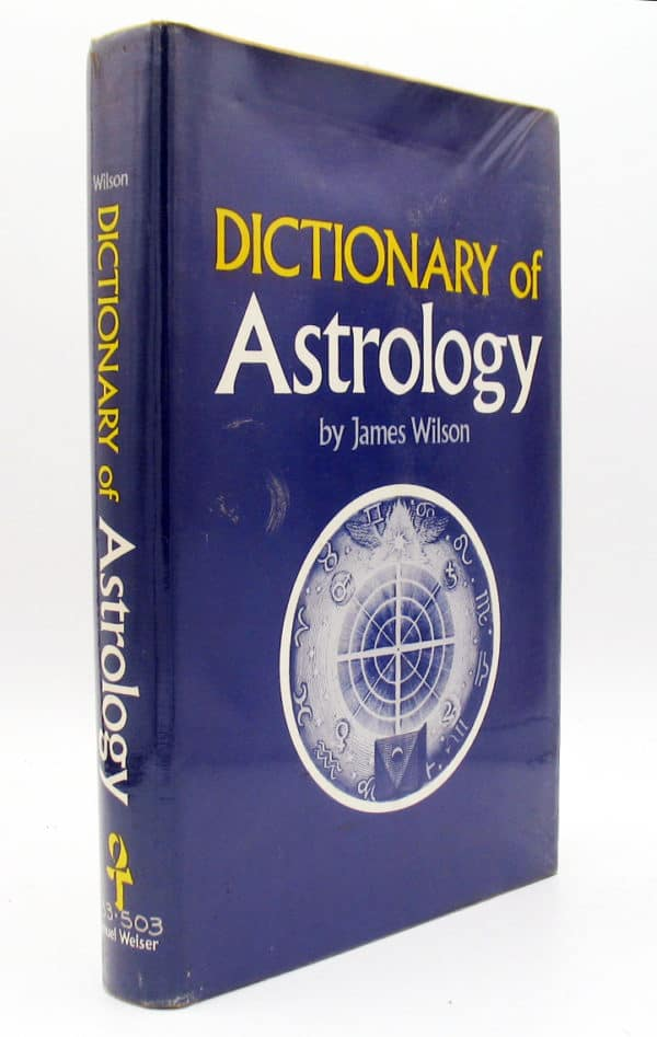 cover of Dictionary of Astrology