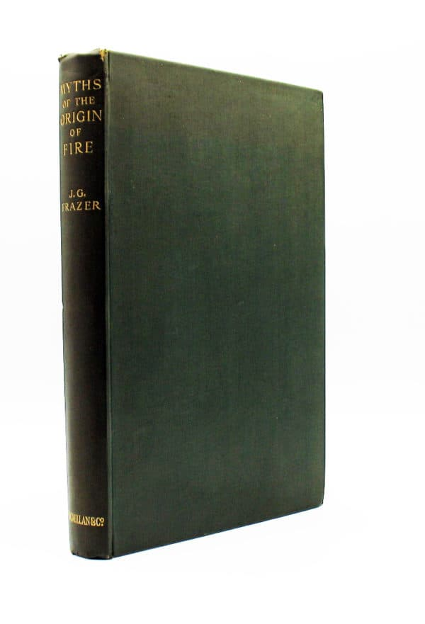 cover of Myths on the Origin of Fire